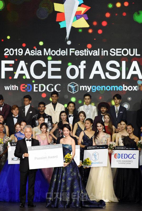 [포토]싱가포르 모델 취 린 `페이스 오브 아시아, 열정상 받았어요`